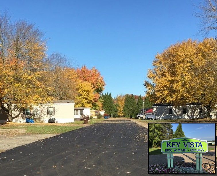 Key Vista Mobile Home Park in Lowell, Michigan